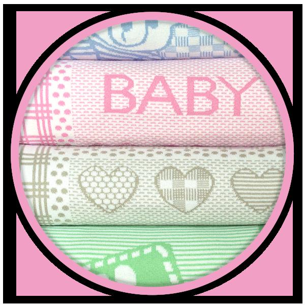 mantas bebés personalizadas en diferentes colores
