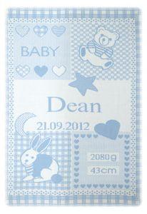Manta Dean azul