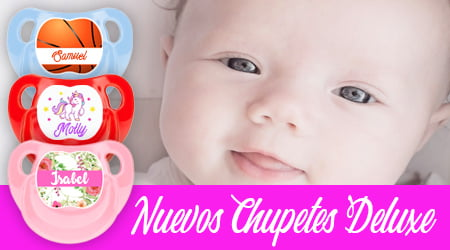Nuevos Chupetes Deluxe