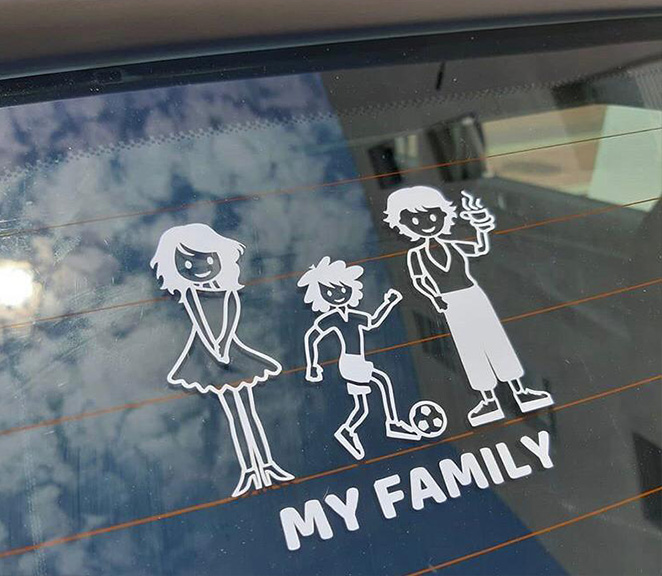 Foto de clientes - Mi Familia