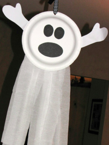Fantasma de decoración para Halloween