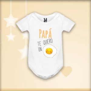 Body «Papá te quiero un huevo»