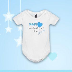 Body «Papi Amor Infinito» Azul