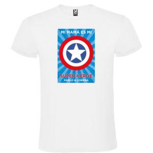 "Camiseta personalizada ""Mamá Super Capitan 2"""