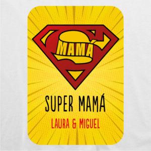 "Camiseta personalizada para mamá ""Super Mamá 2"""