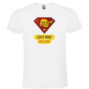 "Camiseta personalizada para mamá ""Super Mamá"""