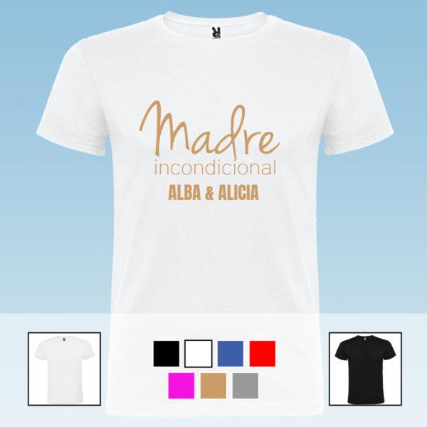 """Camiseta personalizada """"Madre incondicional"""""""
