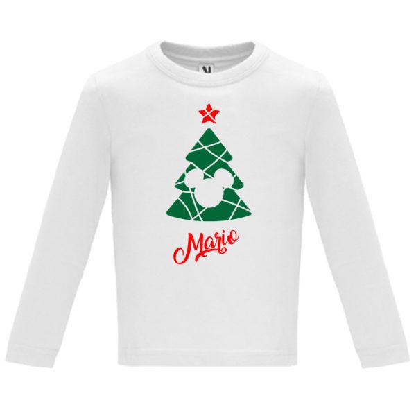 Camiseta Árbol de navidad de Cine - Niño / Niña manga larga