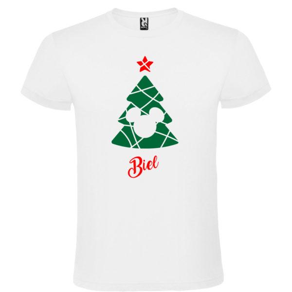 Camiseta Árbol de navidad de Cine - Hombre manga corta