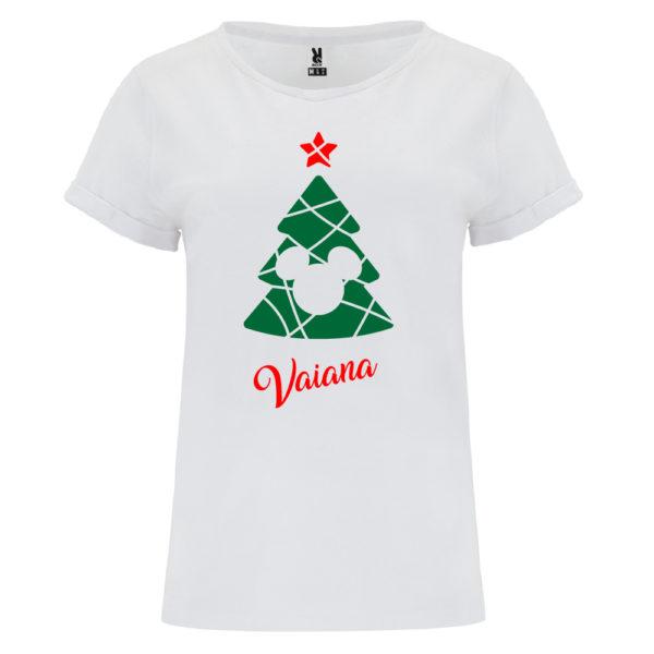 Camiseta Árbol de navidad de Cine - Mujer manga corta