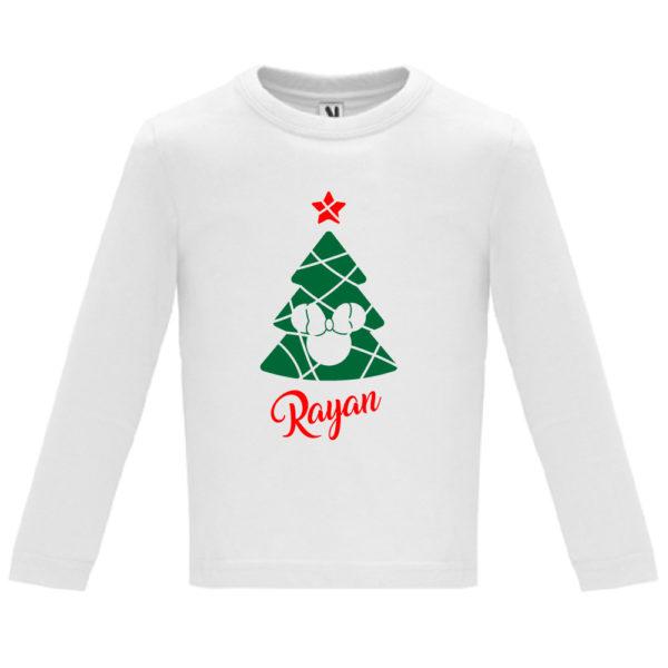 Camiseta Árbol de navidad de Película - Niño / Niña manga larga