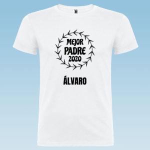 """Camiseta personalizada para papá """"El Mejor Papá Del Año"""""""