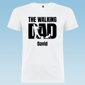 "Camiseta personalizada para papá ""The Walking Dad"""