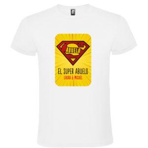 "Camiseta personalizada ""Super Abuelo 2"""
