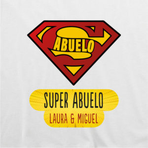 "Camiseta personalizada ""Super Abuelo"""
