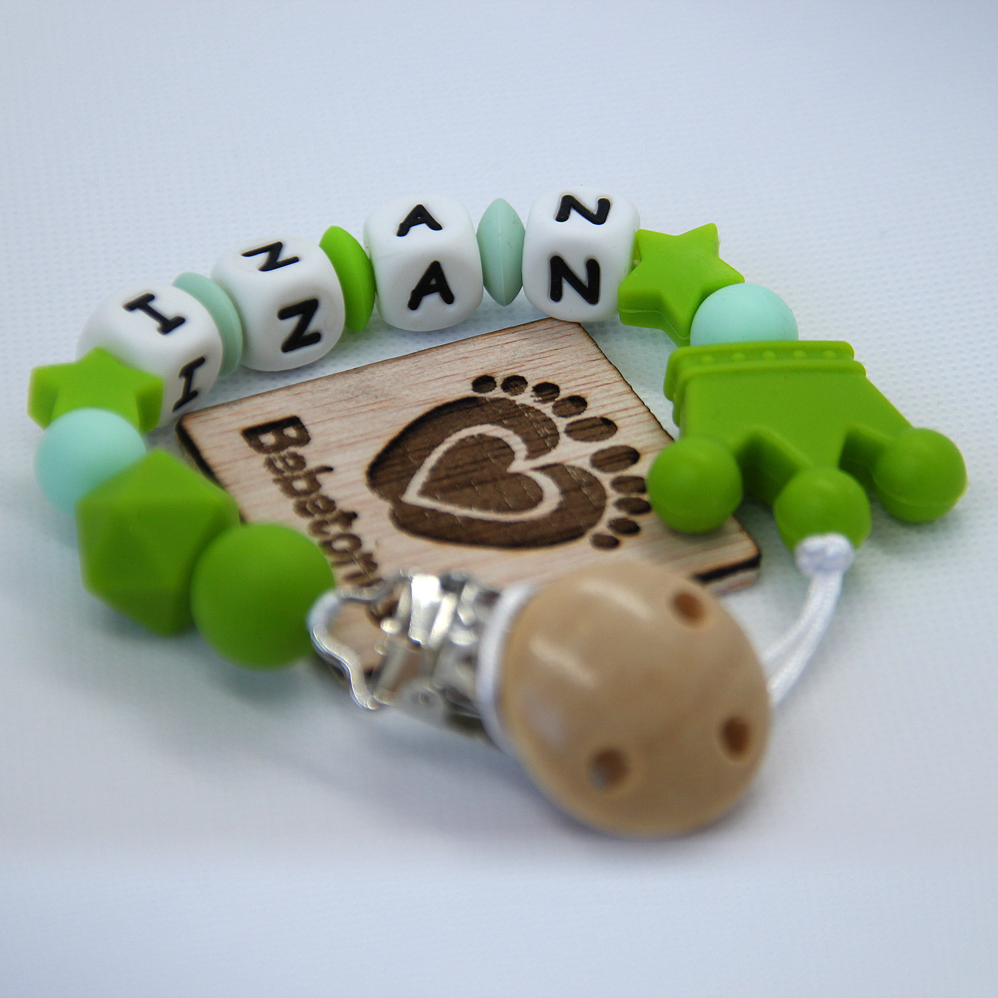 Chupetero personalizado Cártamo con logo