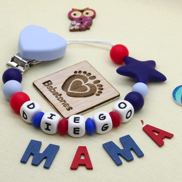 Chupetero personalizado Marina Star con logo