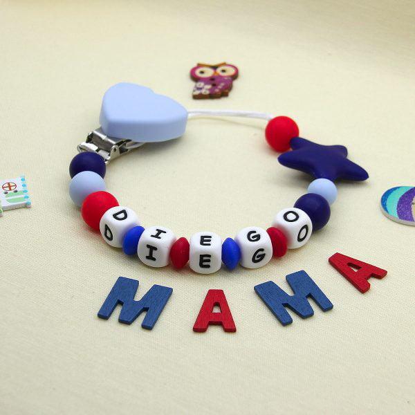 Chupetero personalizado Marina Star