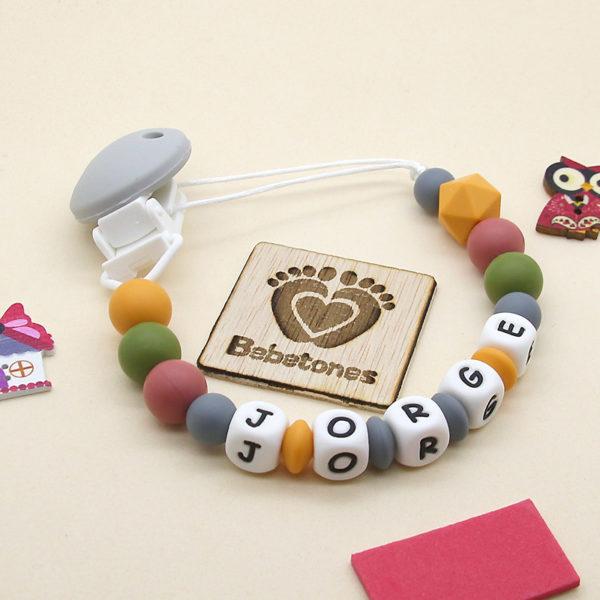 Chupetero personalizado Perlas de Otoño con logo