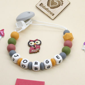 Chupetero personalizado «Perlas de Otoño»