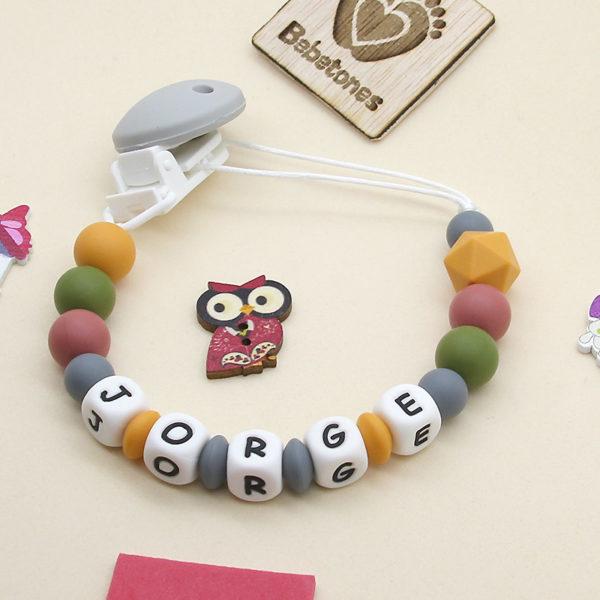 Chupetero personalizado Perlas de Otoño