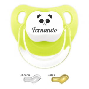 Chupete Personalizado Oso Panda