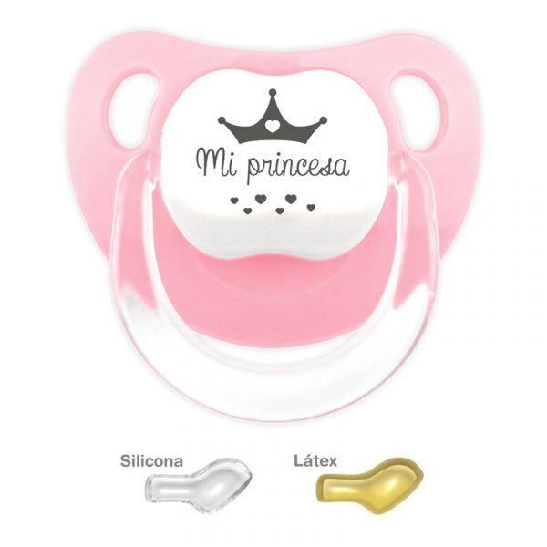 Chupete personalizado Mi Princesa Rosa