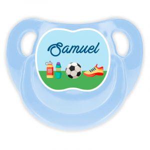 Chupete Personalizado Fútbol Deluxe