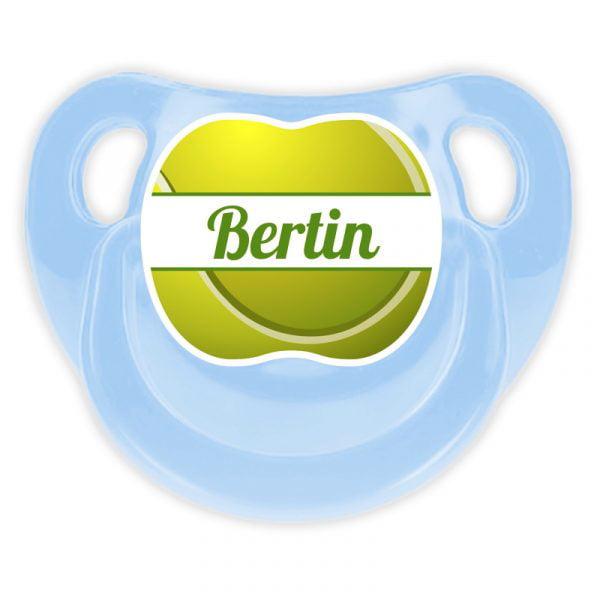 Chupete Personalizado Tenis Deluxe color celeste