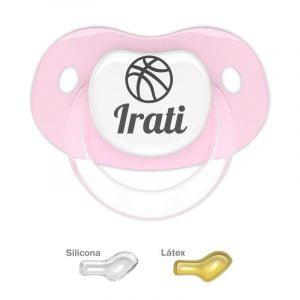 """Chupete Personalizado """"Balón de Baloncesto"""""""