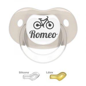 """Chupete Personalizado """"Bicicleta"""""""
