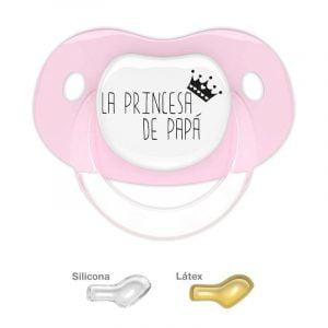 Chupete con dibujo La Princesa de Papá