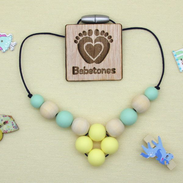 "Collar de lactancia ""Baby Mint"""