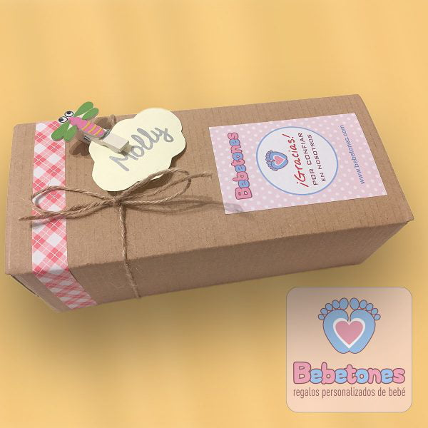 Caja packaging collar de lactancia