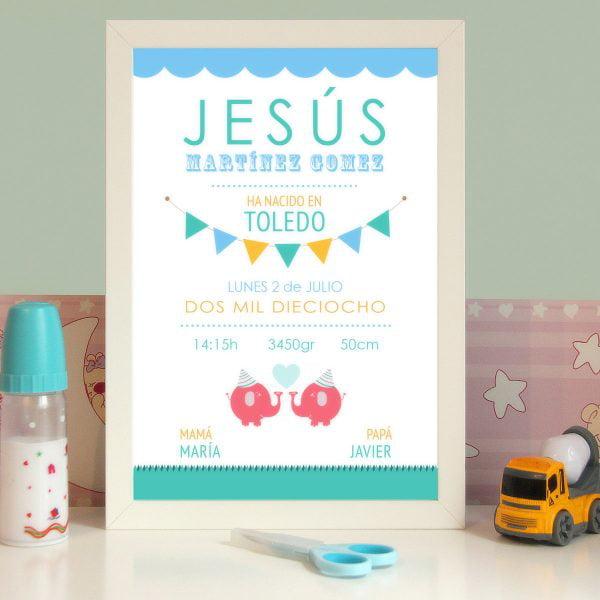 Lamina personalizada modelo Cool Party de Jesus