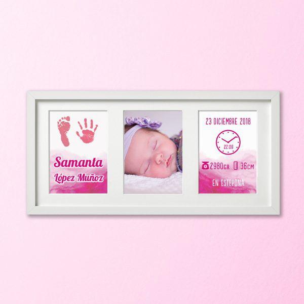 Huellas con Amor color Rosa Bebé