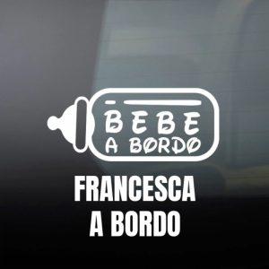 Pegatina de Vinilo  «Biberón»