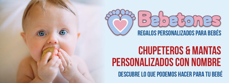 Bebetones - regalos personalizados para bebés