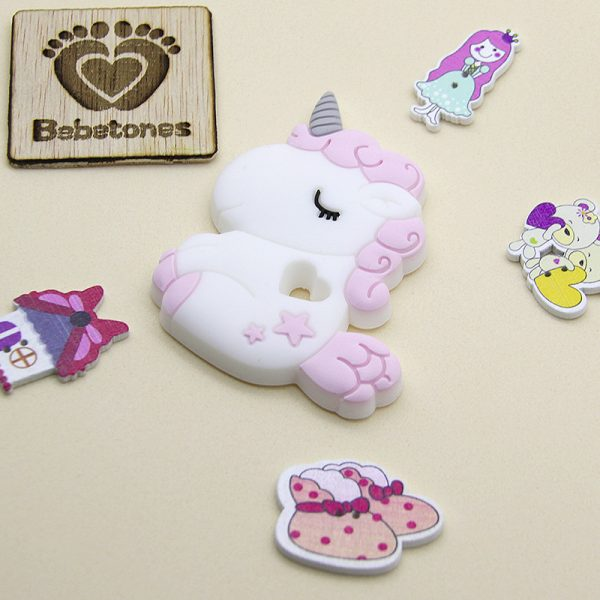 Mordedor de silicona Unicornio Baby