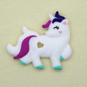 Mordedor de silicona Unicornio