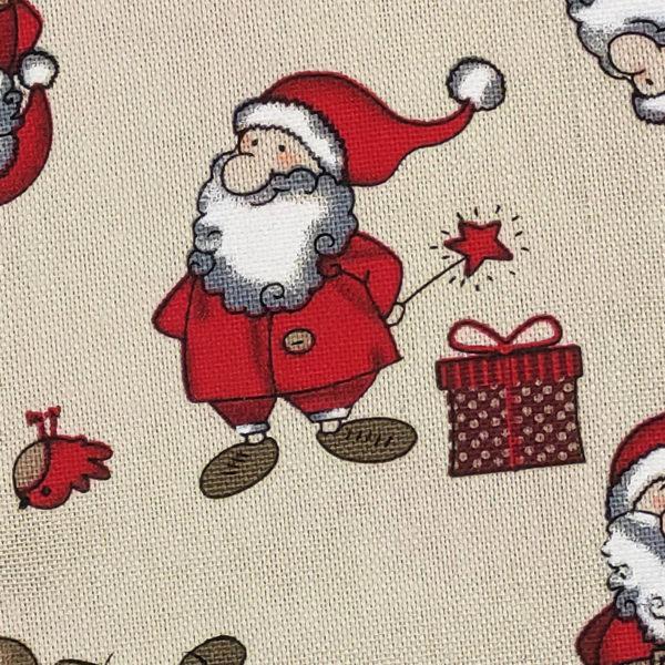 Calcetin personalizado La mágia de la navidad macro