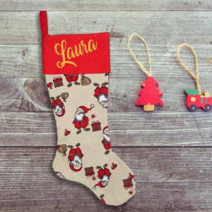 Calcetín de Navidad Personalizado – La Mágia de la Navidad