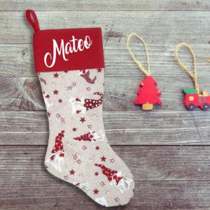 Calcetín de Navidad Personalizado – Mago