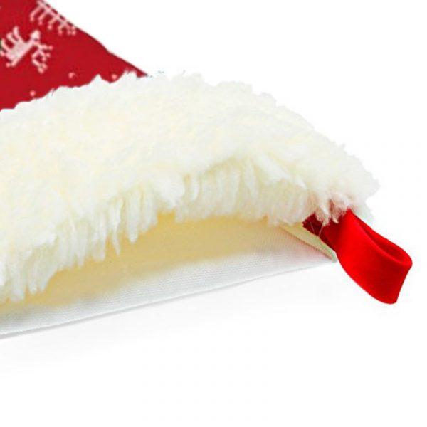 Calcetín de Navidad Renos - personalizado con nombre detalles