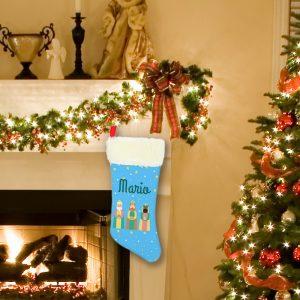Calcetín de Navidad Personalizado – Reyes Magos