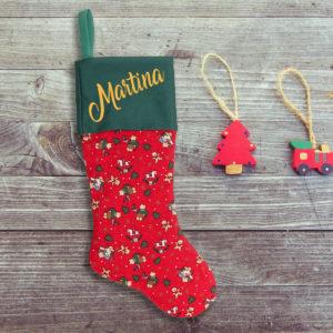 Calcetín de Navidad Personalizado – Juguetes