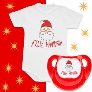 """Pack Body + Chupete """"Papá Noel"""" – Feliz Navidad"""