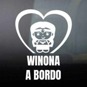 """Pegatina de Vinilo Bebé a Bordo – """"Super Increíble"""""""