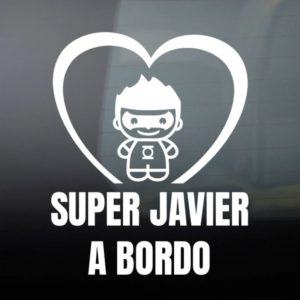 "Pegatina de Vinilo ""Bebé a Bordo – Super Verde"""