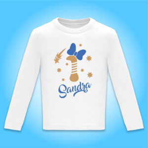 """Camiseta personalizada de cumpleaños """"Vela con Lazo"""""""